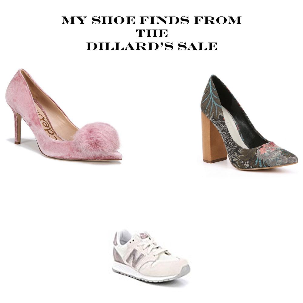 My Dillard's Sale Shoe Finds - The